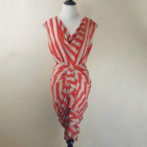 Eva Franco striped dress